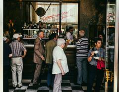 Bella donna (martinpmayer) Tags: street people coffee cafe milano espresso campari mailand