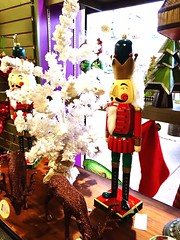 Nutcracker Christmastime Decoration Store Holidays Cheer MerryChristmas at Fredericksburg, TX (gbhartphoto1) Tags: store holidays decoration nutcracker cheer merrychristmas christmastime