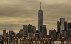Manhattan viewed from Ellis Island (rafaelpuerto) Tags: nyc ny newyork manhattan worldtradecenter esb empirestatebuilding wtc 18200 ellisisland rafaelpuerto