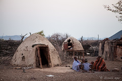 Morning Circle 3910 (Ursula in Aus - Away) Tags: africa himba namibia otjomazeva
