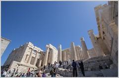 Montée à l(Acropole (Christophe Hamieau) Tags: acropole acropolis antiquity athens athènes europe greece grèce antic antiquité greektemple ruin ruine templegrec