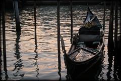The gondolas of Venice III  EXPLORED 4.7.2016 (K. Haagestad) Tags: venice gondola iconic venezia gondol canalgrande