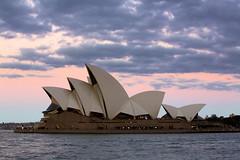 Sydney Opera House @ Sunset (A R I A) Tags: sunset colour canon flickr sydney australia 5d dslr operahouse sydneyoperahouse ef70200mm 5dmarkiii