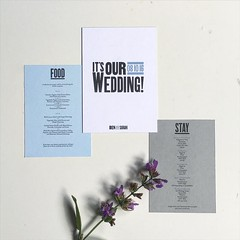 Finally finished the wedding invites. @mfj_1989 One will be heading your way this week!! (Ben Longden) Tags: wedding way one this your will be finished week heading invites finally mfj1989