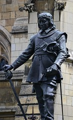 Oliver Cromwell (pjpink) Tags: uk england london architecture spring britain may housesofparliament parliament government ornate neogothic palaceofwestminster 2016 pjpink