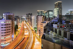 Tokyo Cityscape 2712 (kbaranowski) Tags: longexposure urban japan horizontal skyline architecture modern night speed skyscraper outdoors photography tokyo cityscape citylife tranquility nopeople illuminated transportation nippon japaneseculture touristattraction nihon urbanlandscape tokio ontheway lighttrail roadtraffic urbanstreet urbanstreets capitalcities famousplace buildingexterior touristdestination elevatedview elevatedhighways krzysztofbaranowski 2016krzysztofbaranowski