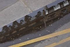 .. (lux fecit) Tags: roof sky paris reflection yellow puddle reflet asphalt