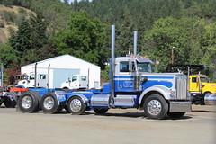 Gene Whitaker W900 (RyanP77) Tags: log truck semi gene whitaker kenworth w900