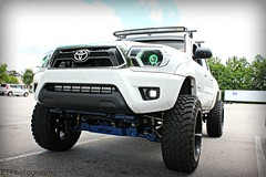 Brian's Yota (eddietyndall) Tags: white truck squat toyota truc yota