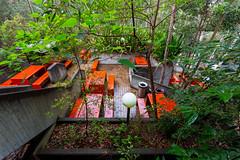 garden dining (ghee) Tags: heritage architecture canon concrete sydney australia nsw kuringgai 6d lindfield ghee gwp davidturner brutialism guywilkinsonphotography utskuringgaicampus universityoftechnologykuringgaicampus