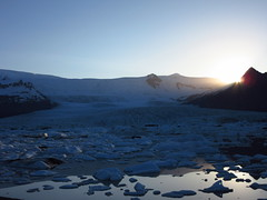IMG_7062 (NapoleonIsNotDead) Tags: light sunset lake ice water sunshine landscape iceland reflex view secret small lagoon glacier hidden jkulsrln glacial vatnajkull icebarg