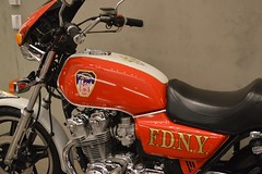 Restored Motorbike (Robinho67) Tags: nyc usa museum memorial downtown manhattan 911 twintowers wtc september11 fdny worldtradecentre