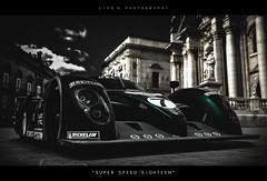 Super Speed Eighteen (lifegphotos) Tags: italy classic cars racecar vintage europe automotive racing videogames luxury supercar lemans bentley gt6 granturismo ps3