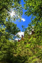 le colorado provencal: les chemines des fes-002 (bonacherajf) Tags: lubron rustrel provence colorado ocres chemines luberon