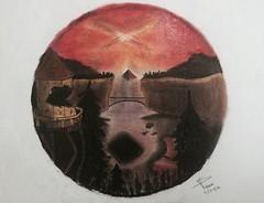 Raromagedon // Weirdmageddon (S Valenciart) Tags: art arte drawing falls gravity dibujo weirdmageddon raromagedon