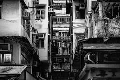 DSCF2010 Old Hong Kong (Scofield Chan) Tags: street blackandwhite monochrome hongkong alley snapshot hong kong fujifilm streetphoto fujinon hongkongculture streetsnap xt1 fujinon35mm