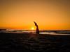 dancing in the sunset (Goddl) Tags: sunset sun nature landscape sand nikon sonnenuntergang dancing exploring baltic dreaming landschaft sonne ostsee tanzen träumen natureporn naturemasterclass goddl