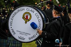 Helensburgh - Clan Colquhoun Pipeband (FotoFling Scotland) Tags: scotland drum argyll event lochlomond highlandgames luss lusshighlandgames helensburghclancolquhounpipeband lussgathering