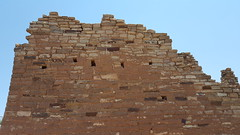 The intricate masonry in Hovenweep