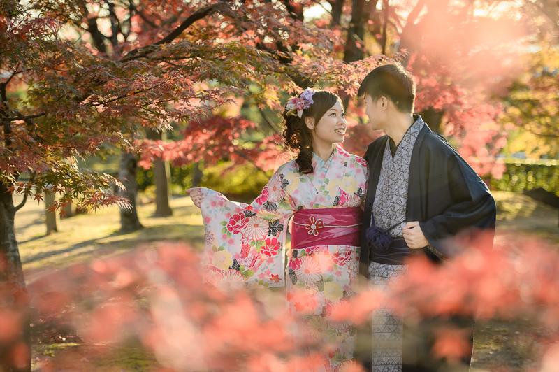 京都婚紗和服,日本婚紗,京都婚紗,京都楓葉婚紗,海外婚紗,和服拍攝,和服體驗,楓葉婚紗,DSC_0088