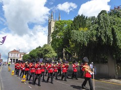 Changing of the Guard, Windsor Castle, Windsor, Royal Berkshire, England (PaChambers) Tags: uk summer england urban castle june army march town europe market guard band ceremony royal historic parade changing marching windsor berkshire windsorcastle maidenhead changingoftheguard 2016