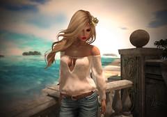 Soft Ocean Wind (Vita Camino) Tags: ocean summer blog sl secondlife exile vita 2016 deetailz vitacamino addames