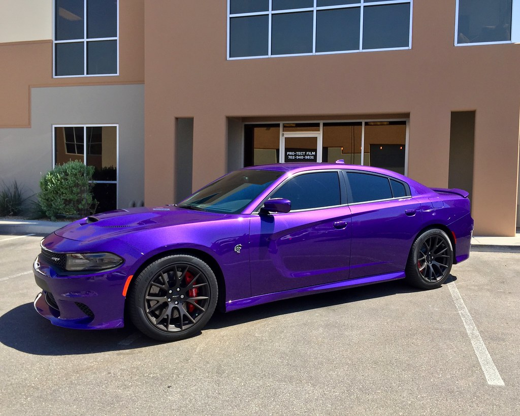 Dodge Dealer Las Vegas >> PRO-TECT FILM Powered By XPEL 2016 Dodge Charger Hellcat