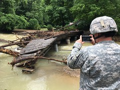 Virginia National Guard (The National Guard) Tags: virginia va vang damage assessment 116ibct 2016virginiafloods flood soldier vaarng alleghenycounty unitedstates us nationalguard national guard guardsman guardsmen soldiers ng army united states america usa flooding assist response mission recovery weather troops military