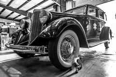 1934 Hupmobile dog tire (kryptonic83) Tags: 1934 hupmobile oldcars