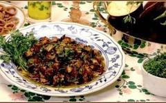 Cucina siciliana - Melanzane ad insalata (RicetteItalia) Tags: pasto insalata melanzane povero
