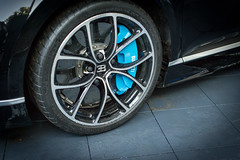 DSC_0398 (jonlarge) Tags: goodwood festival speed 2016 supercar paddock bugatti chiron black blue car wheel wheels alloy round metal rubber tyre rim rims shoe shoes