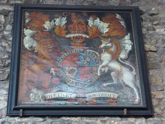 St Nicholas's, Leicester (Aidan McRae Thomson) Tags: leicester church leicestershire royalarms painting heraldic