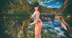 Summer (3XIS) Tags: summer lake cute girl photography blog lab contest picture bodylanguage lara secondlife blogging genesis summerfest trixie khaled tlc azuchi maitreya hairfair wasabipills theliaisoncollaborative genesislab