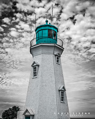 Lighthouse on Lighthouse Rd. (Chris Liszak Photography) Tags: lighthouse canada color colour wow photo niagara sharp stunning stcatharines splash nikond7100 chrisliszakphotography