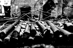 Reinforcements (#Weybridge Photographer) Tags: urban slr abandoned metal canon eos bars dof decay steel radiation nuclear ukraine depthoffield adobe disaster discarded dslr zone decaying reactor lightroom chernobyl exclusion urbex reinforcing reinforcement pripyat chornobyl 40d