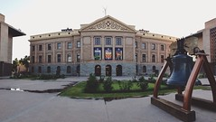 Arizona State Capitol Museum (beaubright) Tags: arizona panorama building phoenix museum architecture photography az structure capitol afterlight arizonastatecapitol arizonastatecapitolmuseum iphoneography snapseed vscocam uploaded:by=flickrmobile flickriosapp:filter=nofilter governmentalmall