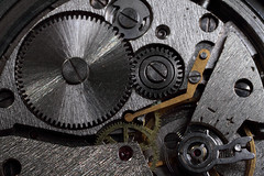 gears from old mechanism (Igor Golovnov) Tags: old motion detail macro clock industry wheel yellow metal closeup turn work vintage circle flow design movement iron industrial technology power mechanical time antique steel interior grunge watch engine machine rusty engineering gear device retro business machinery part technical round instrument precision balance inside cogwheel cog mechanism rotary accuracy