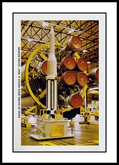 NASA Postcard Folder, 1964 (Cosmo Lutz) Tags: postcard nasa rocket saturn 1964