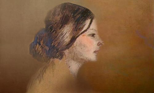 "Las Madeleines escuchando la soleada soledad, descripciones de Henri de Toulouse Lautrec (1889) y Pablo Picasso (1904). • <a style=""font-size:0.8em;"" href=""http://www.flickr.com/photos/30735181@N00/8815707272/"" target=""_blank"">View on Flickr</a>"
