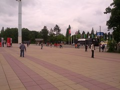 Olympiastadion (MichaelGT) Tags: party berlin history germany manchester graffiti holocaust football memorial gate soccer united thirdreich nazi ss reichstag berlinwall friendly murder ddr jewish jews fc genocide potsdam brandenburg gdr checkpointcharlie antifascist gestapo ironcurtain hilter fcum easternblock babelsburg