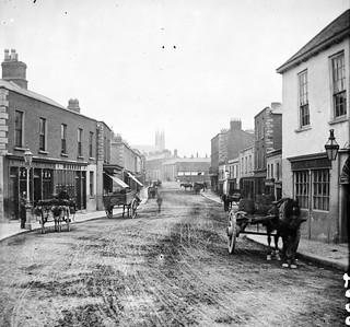 Dublin, but where? Main Street in Blackrock!
