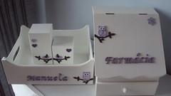 Kit higiene + farmacinha (Pontos de Amor by Jssica) Tags: df coruja feltro passarinhos kithigiene farmacinha