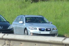 Unmarked Traffic car (S11 AUN) Tags: car estate traffic police bmw m5 warwickshire 2012 unmarked 530d