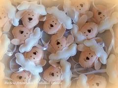 Chaveirinhos Ovelhinha (Carneirinho de Pano) Tags: lembrancinhasdebatizado chaveirinhosovelhinhas ovelhinhasdefeltro chaveirnhosdefeltro