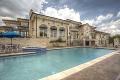 Outdoor Pool and Spa (Joshua_l_Anderson) Tags: architecture canon design realestate artistic luxury lakegeneva 5dmarkii sothebysinternationalrealty
