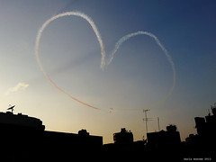 #30June 2013 Rebel    #egypt (Sierragoddess) Tags: city flag military jets egypt trails cairo revolution egyptian planes rebellion contrails skywriting tahrir frommybalcony 2013