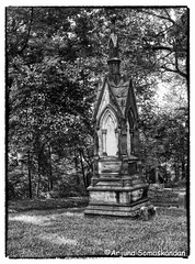 Riverdale - Necropolis Cemetry 4 (digithief) Tags: blackandwhite bw toronto cemetery nikon headstones monuments tombs necropolis d800 racoons riverdalecemetery