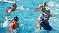 15th FINA World Championships - Water Polo (fina1908) Tags: 2013 barcelona fin world aquatics championships waterpolo pallanuoto women donne russia netherlands cataluna spain esp finaworlds