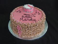 buttercream finish drum cake (Mandy's Homemade Cakes) Tags: cake drum finish buttercream mandyshomemadecakes