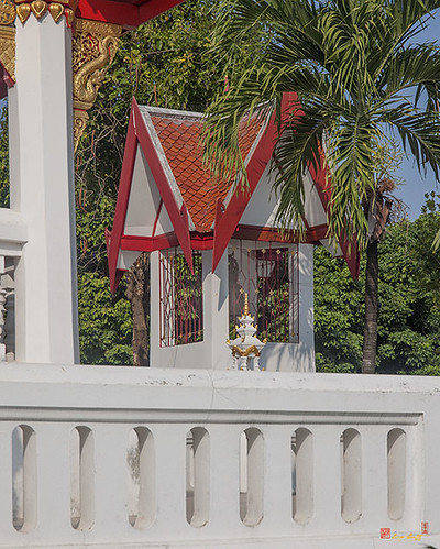 Wat Ban Ping Bell Pavilion (DTHCM0336) วัดป้านปิง โรงระฆัง
